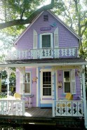 Little Purple Victorian Cottage