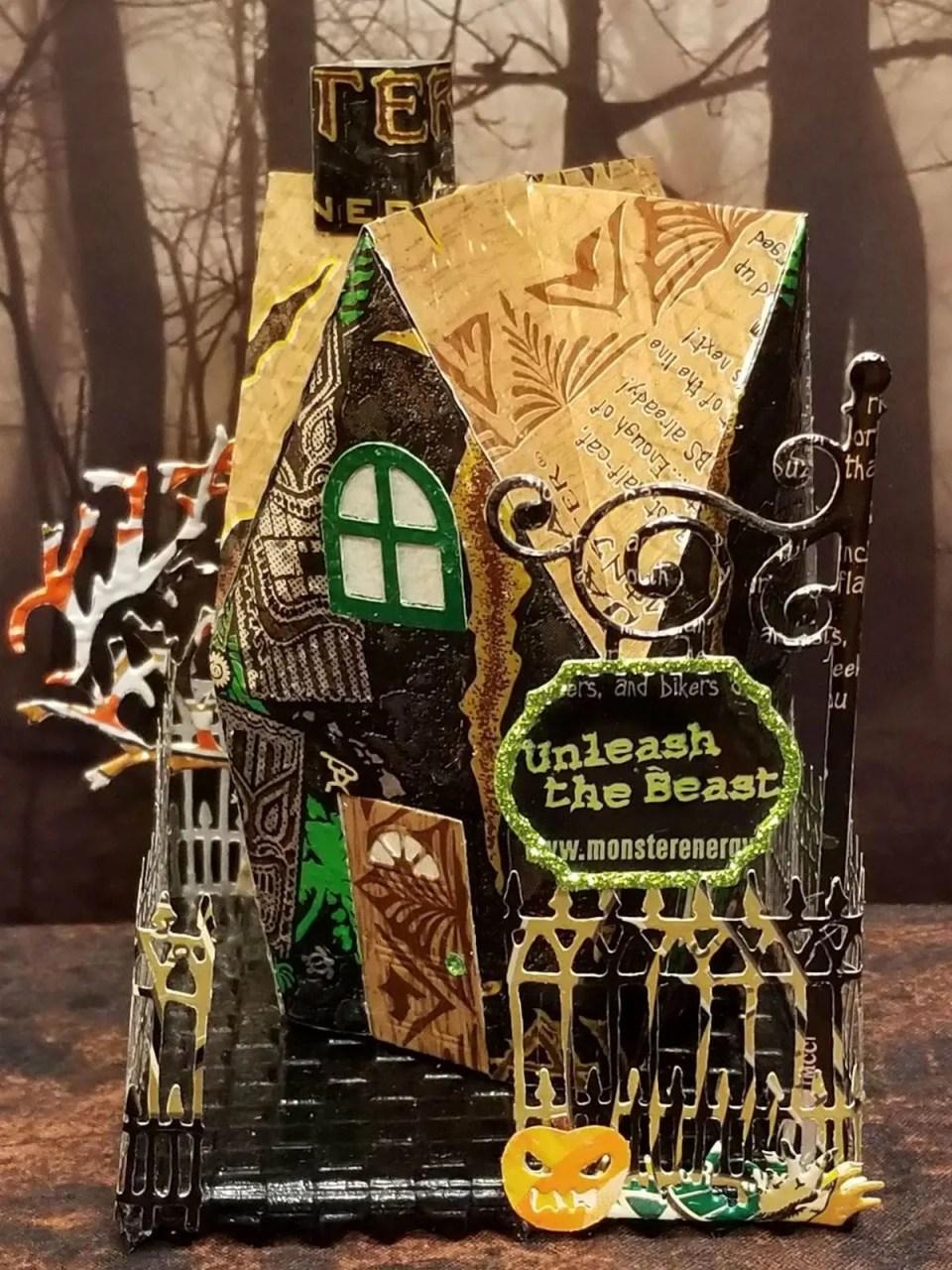 Halloween Shop #2 aluminum can house
