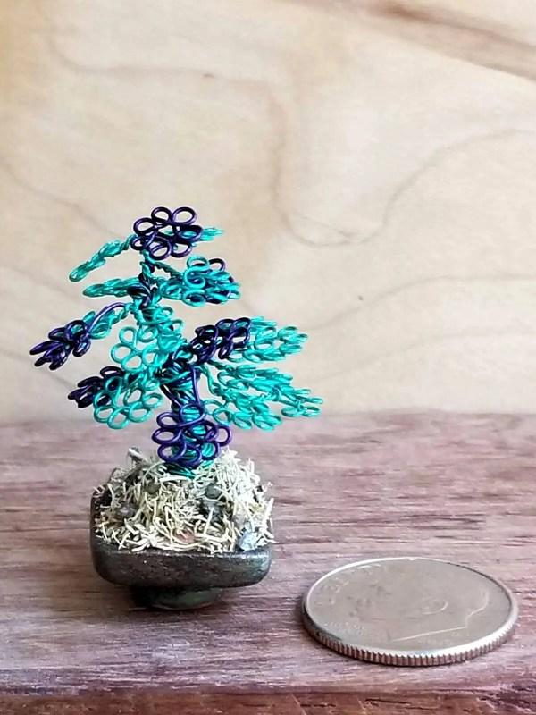 Micro Wire Bonsai Tree S6 image 4 of 6