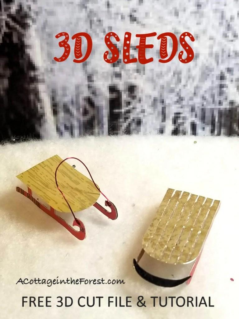 3D Sleds Pinterest Pins