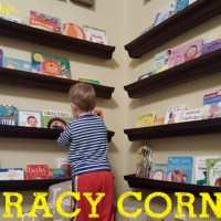 Literacy Corners for Toddlers that Inspire Reading
