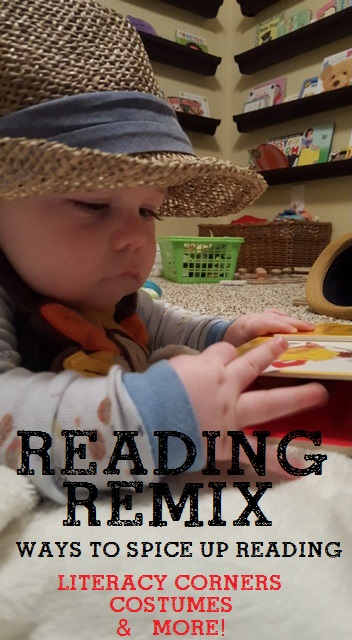 Reading Remix: 3 Ways to Spice Up Reading with your Toddler. Fun Reading Ideas. Reading with Kids. How to make reading more fun.