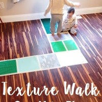 Sensory Play & Gross Motor Fun | Texture Walk