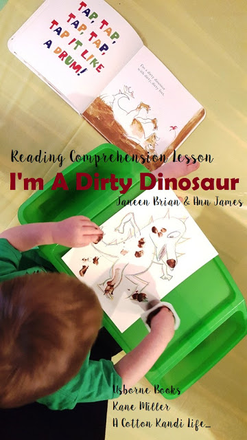 Reading Comprehension Lessons for Toddlers with Chocolate Pudding