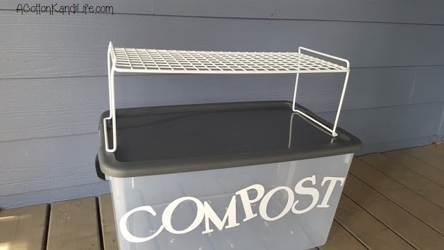 Building our Compost Bin for Toddlers. Gardening with kids. DIY Kitchen Scrap Compost Bin. How to make a Compost Bin