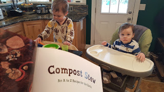 Teaching Kids about Composting Toddler School Unit from A Cotton Kandi Life. Gardening with Kids, How to make a Compost Bin with Kids