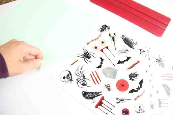 printable halloween tattoos