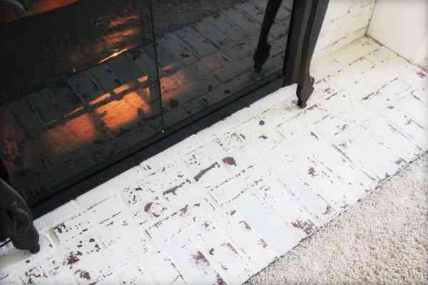 german schmear fireplace