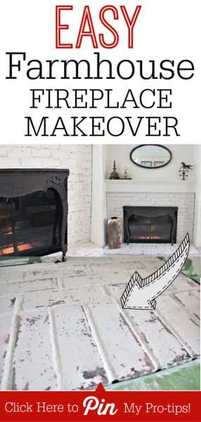 How to EASILY Get the Fixer Upper German Schmear Fireplace Look