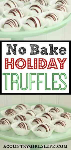 DIY Holiday Desert: Sandwich Cookie Truffles