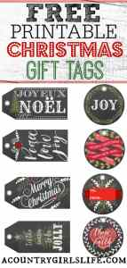 My Gift to You: Free Christmas Gift Tag Printables