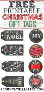 My Gift to You: Free Christmas Gift Tag Printables