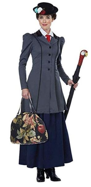 easy last minute disney costume for women on Amazon miss poppins