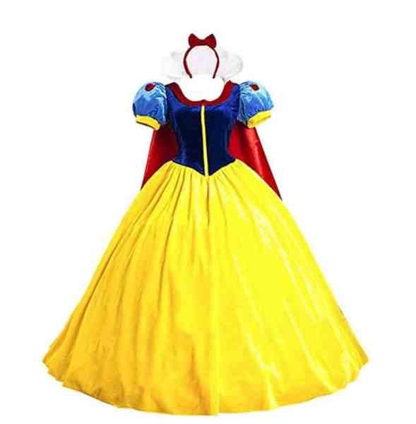 easy last minute disney costume for women on Amazon snow white