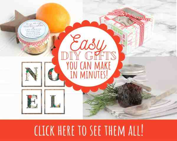 EASY DIY Christmas Gift Ideas You Can Make in Minutes!