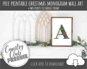 FREE Christmas Wall Art Printables for Instant Decor!