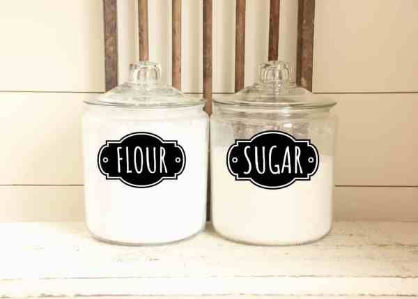 free printable kitchen pantry labels