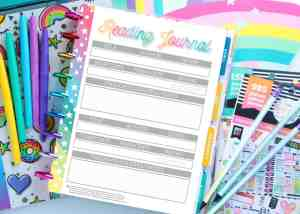 FREE Printable Reading Journal for Die Hard Booklovers!