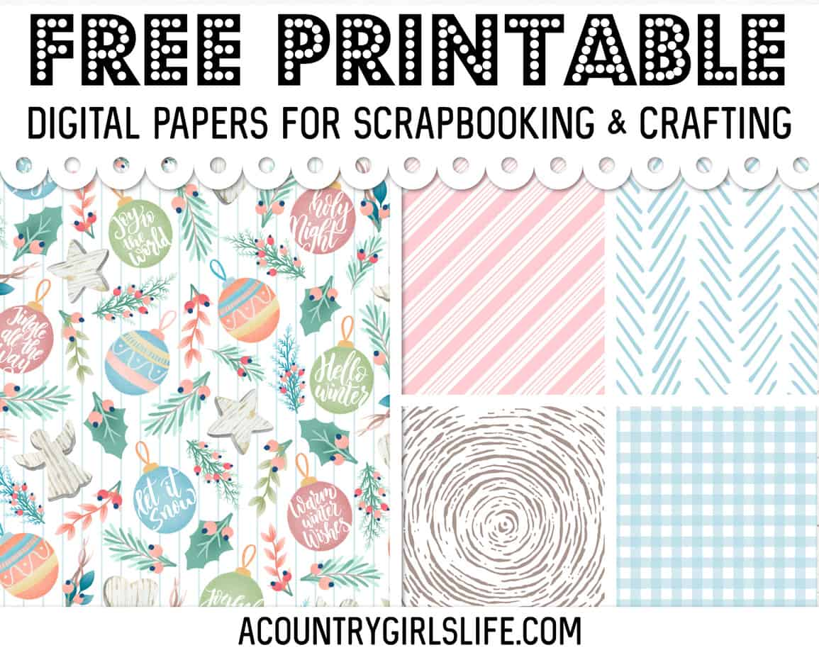 Tons Of Free Digital Paper You Ll Want To Use Now A Country Girl S Life