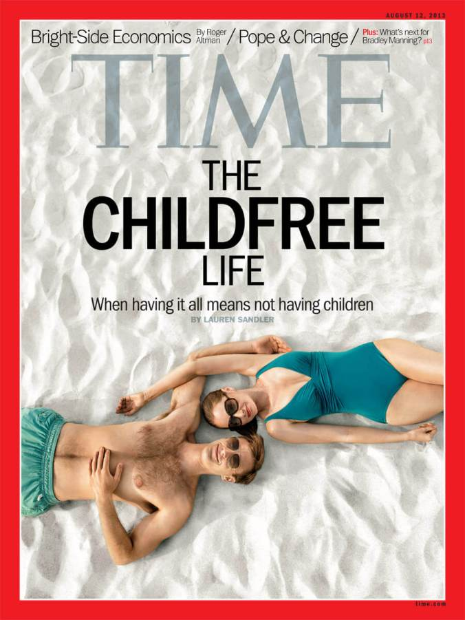 Time Magazine Childfree Life Cover