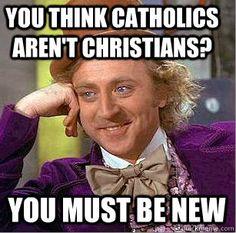 Willy wonka Catholic Church