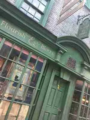 flourish and blotts shop