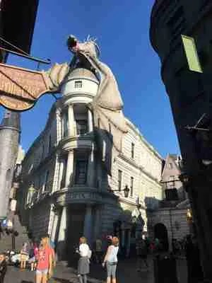 gringotts bank in diagon alley