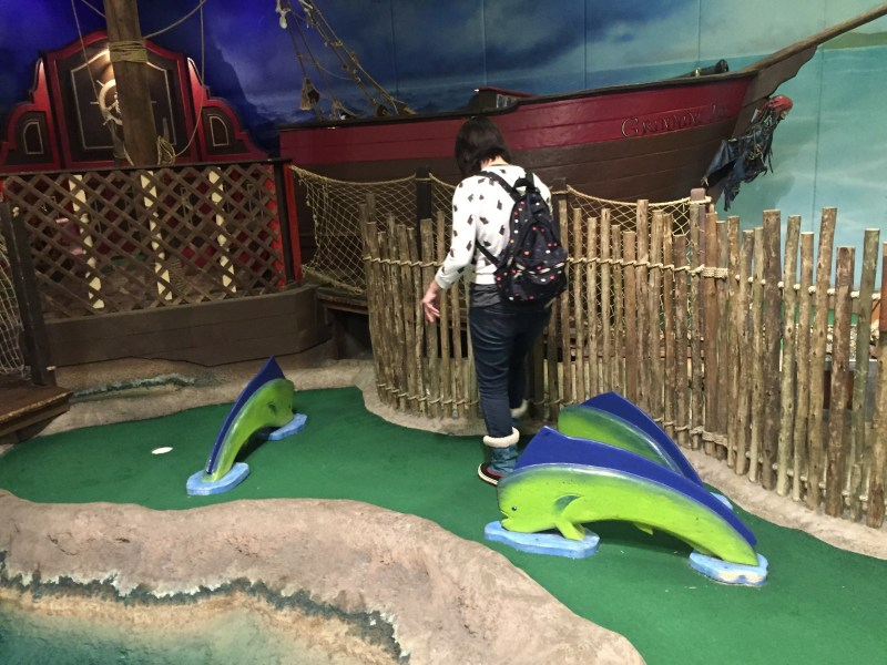 indoor crazy golf     A Couple of Putts Played February 27  2015   February 12  2016 Reviewed by Mr  Tee  Played  with Jennifer   Manny Castro in 2015 and The Pink Putter in 2016  The Grand  Slam