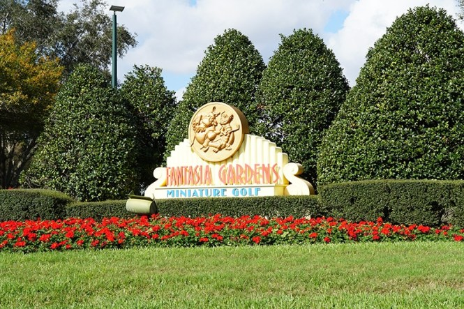 Disney S Fantasia Fairways Mini Golf Course Orlando Fl A Couple Of Putts