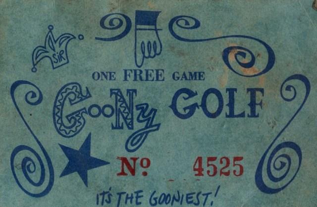 Goony golf coupons
