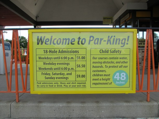 Welcome to Par-King!