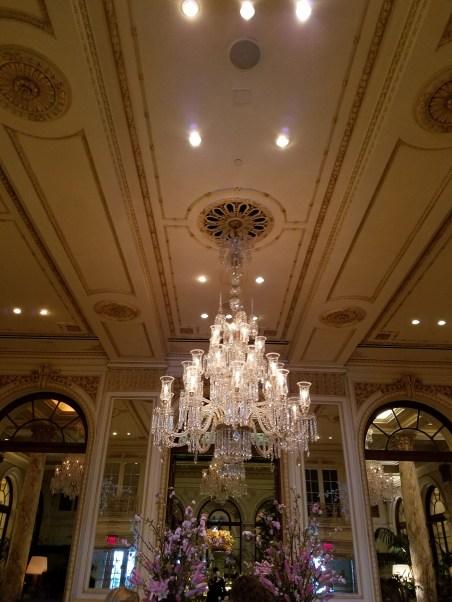 Lobby of The Plaza Hotel