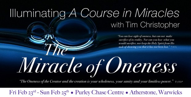 the miracle of oneness with tim christopher