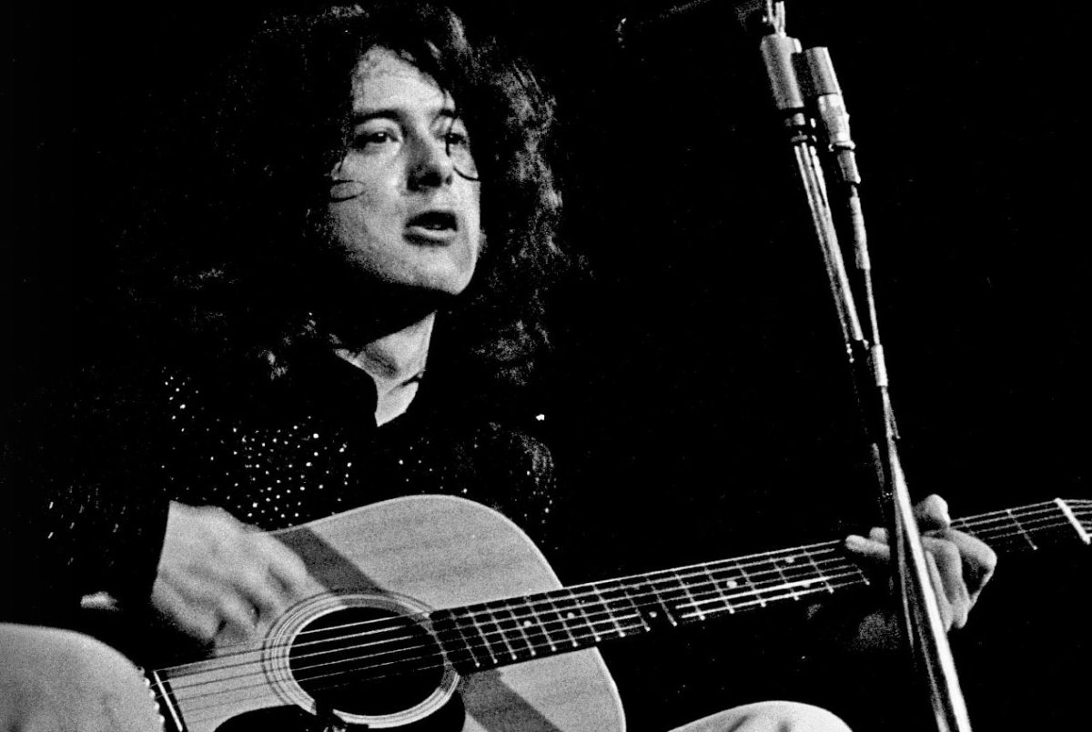video lesson learn to play slide like jimmy page acoustic guitar. Black Bedroom Furniture Sets. Home Design Ideas