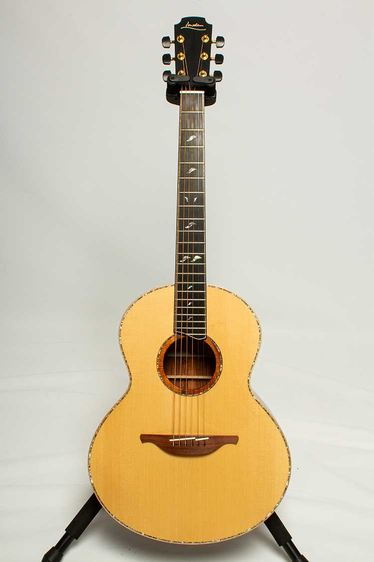 2016 Lowden S50 acoustic guitar