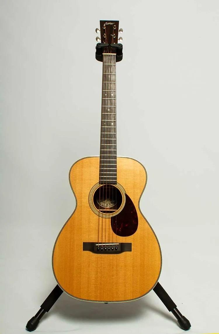 2014 Collings 02H Concert acoustic guitar