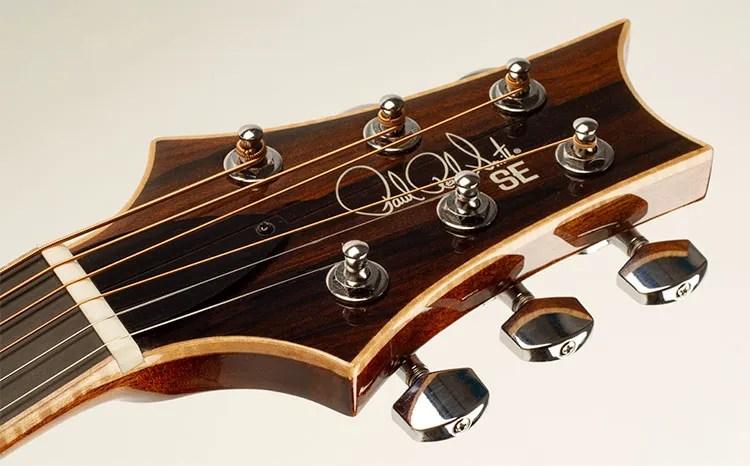 Paul Reed Smith Guitars headstock