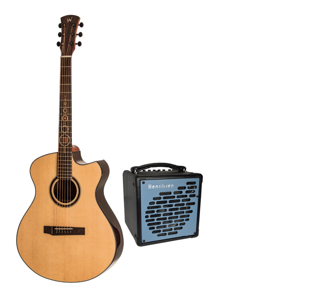 ENTER TO WIN THIS PRIZE PACK FROM ANDREW WHITE GUITARS AND