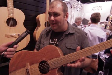 Cole Clark Guitars NAMM 2016 Acoustic Guitar Magazine