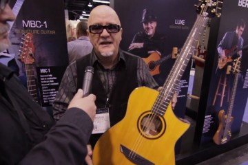 Cort at Winter NAMM 2016