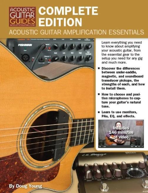 Flash Sale: Acoustic Guitar Amplification Essentials