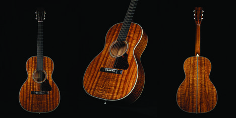 Custom Shop Martin Guitar from the Music Zoo