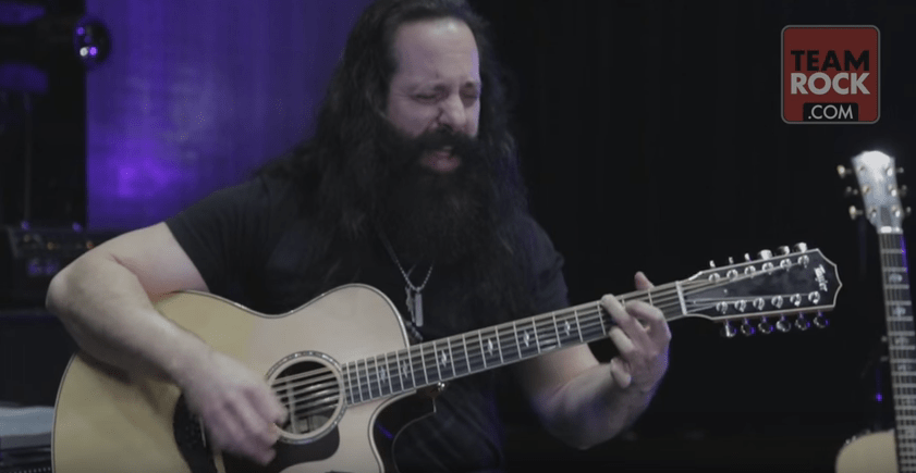 """VIDEO: Dream Theater Performs Acoustic """"Wish You Were Here ..."""
