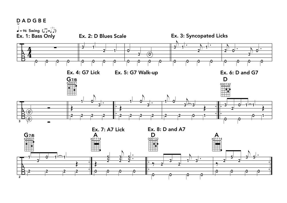 Monotonic-Bass-Examples
