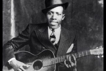 blues guitarist Robert Johnson