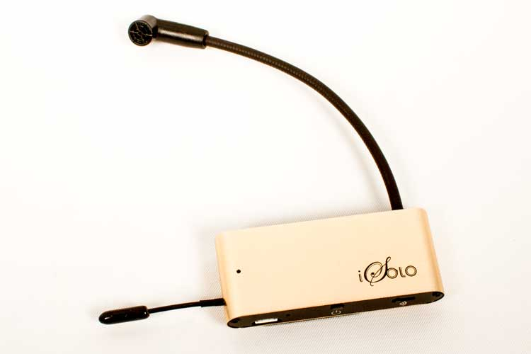 gear review isolo guitar pickup combines sound of a real mic with wireless mobility video. Black Bedroom Furniture Sets. Home Design Ideas