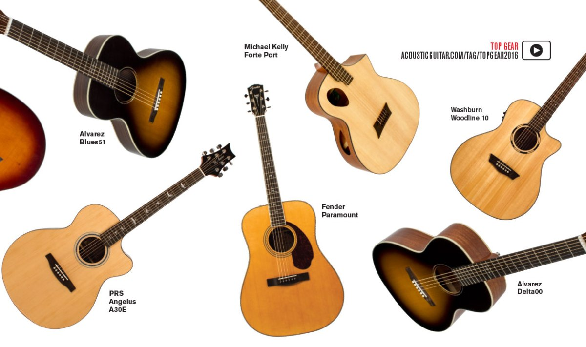 2016 top gear the year in acoustic guitars amps accessories video acoustic guitar. Black Bedroom Furniture Sets. Home Design Ideas