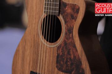 Blackbird Savoy Ekoa Guitar Winter NAMM