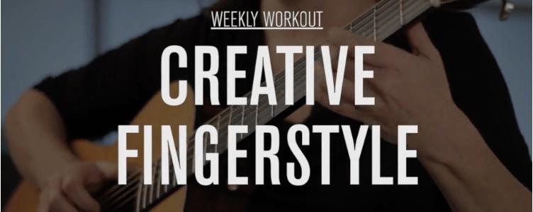 Jamie Stillway Creative Fingerstyle Weekly Workout