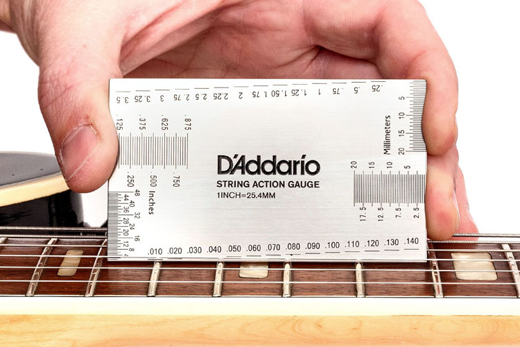 review d addario string height gauge acoustic guitar. Black Bedroom Furniture Sets. Home Design Ideas